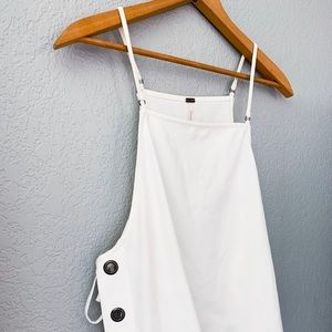 Free People Tops - Free People White Trapeze Tank